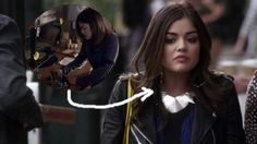 Season 3, Episode 17 - Look at the mirror lately? The answer to that rhetorical question is evidently no, or else Aria wouldn't have walked out of the house wearing jewellery from the production line of a metal refinery plant.  Remember how Aria broke a mirror to defend herself against Meredith in the last episode? She must have glued the broken pieces back together and made a necklace out of it instead. TBH, I was kinda scared about that triangle gizmo she's wearing around her neck. Let's…