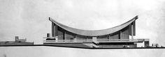 Фасад Дома мебели, 1970 год. Изображение: Благотворительный фонд развития архитектуры имени Н. Чмутиной