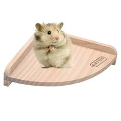 Small Pet Toy Wooden Platform Bed Frame Jump For Chinchilla Hamster Rat *** Read more reviews of the product by visiting the link on the image.