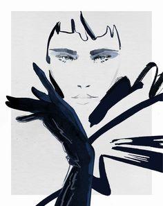 gloves and women Gloves, Illustration, Women, Art, Art Background, Women's, Illustrations, Kunst, Woman