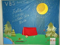 """Vacation Bible School-"""" Let's Camp under the Stars"""""""