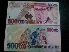 c233 fe - cédula 500 mil cruzeiros - 1993 - fhc