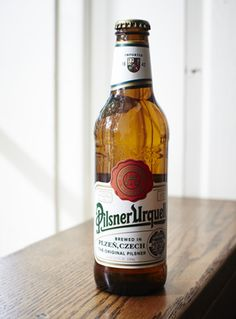 pilsner urquell brown bottle