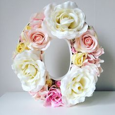 Floral Letter by SiennaAndBloom on Etsy