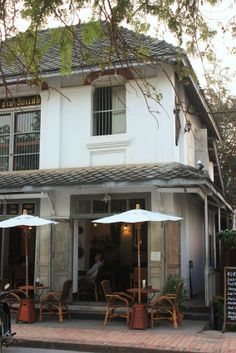 Coffee in Greyton? Asian Architecture, Colonial Architecture, French Riviera Style, Lampang, Shophouse, French Colonial, Luang Prabang, Indochine, Roof Design