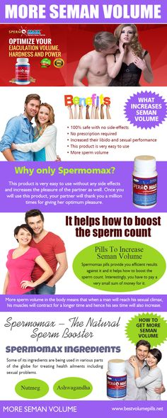 """Click this site http://www.coroflot.com/order-volume-pills for more information on Pills To Increase Seman Volume. These herbal Pills To Increase Seman Volume also provide an effective yet easier alternative for men to address their sexual health problems. Instead of trying to eat all those """"sperm-friendly"""" foods, you can get the full benefits of maximized semen quantity in an easy-to-take pill. As they are made of 100% natural herbs, you are free from worrying about negative side effects."""