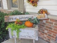 Sign for side of wheelbarrow in front yard.