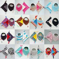 Baby Shower 1st Birthday Gift Set Baby Dribble bib by pupaforkids