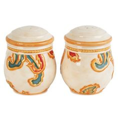 I pinned this Carissa Paisley Salt and Pepper Set in Beige from the Fitz and Floyd event at Joss and Main!