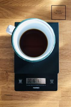 Hario - Drip Scale - waga do metod alternatywnych Scale, Coffee, Tableware, Weighing Scale, Kaffee, Dinnerware, Dishes, Stairway, Cup Of Coffee