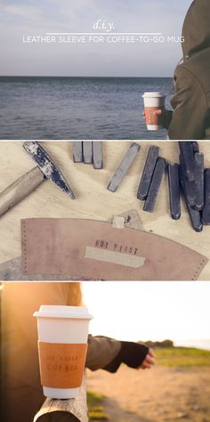"If you're looking for DIY inspiration on how to turn your coffee cup into an eyecatcher, stay right here. If you're looking for even more DIY information, make sure to check out the collaborative board ""DIY bloggers for Volkswagen"": https://www.pinterest.com/volkswagen/diy-bloggers-for-volkswagen"