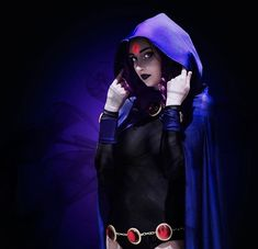 Teen Titans, Raven, Cosplay Costumes, Joker, Halloween, Awesome, Fictional Characters, Ravens, Crows