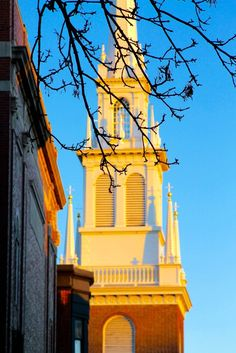 Old North Church in the North End | 5 Must-Visit Boston Neighborhoods | Feather & Flint