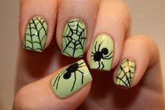 Resultado de imagen para uñas de halloween faciles