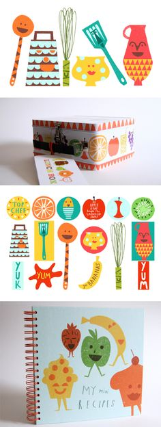 illustrations by Debbie Powell for products by Jamie Oliver  this looks like my work!