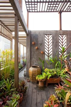 Small Courtyard Gardens, Small Courtyards, Exterior Design, Home Interior Design, Outdoor Spaces, Outdoor Living, Rest House, Terrace Design, Home Deco