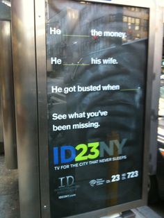 Investigation Discovery - November 2011 - NYC