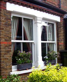 uPVC Sash Window - needs to look like wood