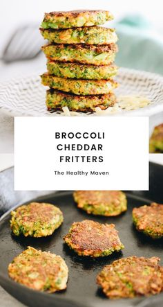 Only a few simple ingredients are all you need to make these broccoli cheddar fritters that are kid-approved and packed full of nutrition…but shhhh they don't need to know!