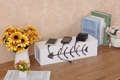 High-quality-Non-Formaldehyde-Storage-Box-Cable-Box-Lacquer-DIY-Electrical-Outlet-Power-Strip-Wire-Cord