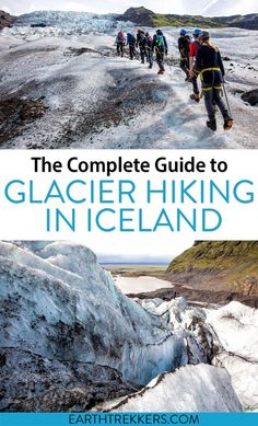 Complete Guide to glacier hiking in Iceland. Learn how to hike on the largest glacier in Europe. Best tours, what to expect, when to go, and what else to add to your day. Iceland Destinations, Iceland Travel Tips, Iceland Glacier, Michigan, Old Country Churches, Go Hiking, Hiking Trips, Best Hikes, Adventure Travel