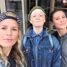 Ashlyn Harris, Megan Rapinoe, Ali Krieger. (Instagram)