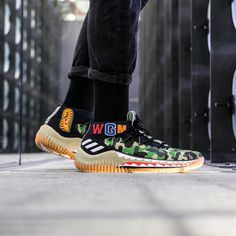 new product e597a 54ff9 BAPE x adidas Consortium Dame 4. The Latest Sneakers