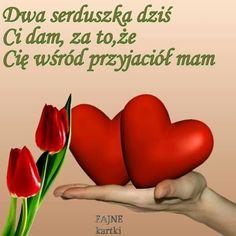 Bff, Hearts, Ribbons, Polish Sayings, Photo Illustration, Bestfriends
