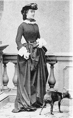 1860. Empress Elisabeth of Austria._Φωτογράφος: Ludwig Angerer [15.08.1827 – †…