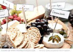 Cheese platter & picnic wedding | Photo: Jenni Elizabeth, Catering: Dish food & social