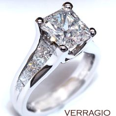 Absolutely love! My dream ring! 2ct total weight with a 1ct solitaire!