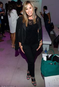 Fashion Police host Melissa Rivers goes on patrol at NY Fashion Week #dailymail