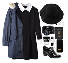 """""""Are you really going to love me when I'm gone"""" by perfectionixst ❤ liked on Polyvore featuring WithChic, Sans Souci, Marc by Marc Jacobs, Steve Madden, Ted Baker, Junghans and Royce Leather"""