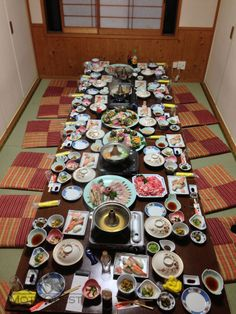 Beautiful, exotic, tasty, healthy, fresh, unforgettable dinner on MotoQuest´s 2013 Motorcycle Tour. Click here to get involved with our upcoming Japan Tour: https://www.motoquest.com/guided-motorcycle-tour.php?japan-three-island-tour-20
