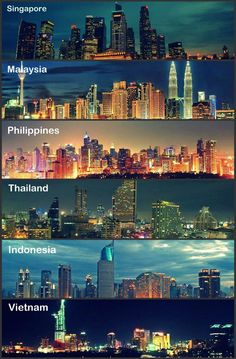 The modern Southeast Asia