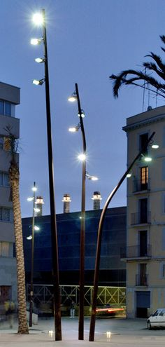 FUL street light series by Pere Cabrera, via Behance
