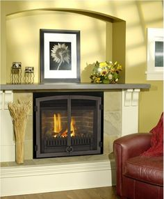 pin by phillips energy inc on fireplaces direct vent gas rh pinterest com