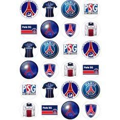 Décorations Comestibles Paris Saint Germain Pour Cup Cakes