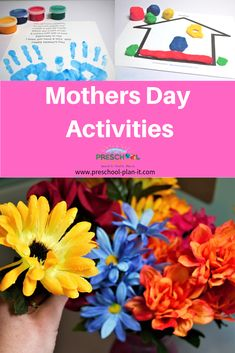 A Preschool Mothers Day Activities Theme that includes preschool lesson plans, activities and Interest Learning Center ideas for your Preschool Classroom! Preschool Lesson Plans, Preschool Themes, Preschool Classroom, Toddler Preschool, Preschool Projects, Daycare Crafts, Preschool Science, Classroom Ideas, Mother's Day Activities