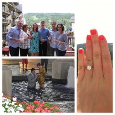 Congrats to @Amanda Snelson Ann on her engagement! Yay! #ykmyway #yumikim