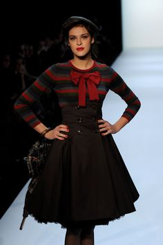 MBFW A/W 2010: Lena Hoschek Fashion Show