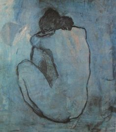 """""""Seated nude, back view"""" Pablo PICASSO"""