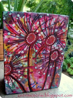 Mixed Media Art Box http://cecrisicecrisi-shop.blogspot.it/