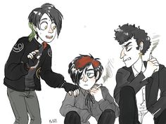 South Park Goth Kids and Vampire