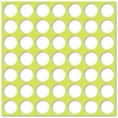 Silhouette Design Store - View Design #2712: medium circle pattern