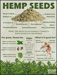Hemp seeds- nutritional powerhouse great to add to your green smoothies!
