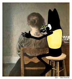 Bat s'invite chez... Vilhelm Hammershøi Rest