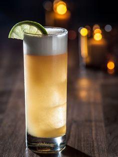 Gatsby 7 ~ ½ ounce lime juice, ½ ounce Simple Syrup, 1 ½ ounces Organic Avenue apple juice, ½ ounce Lairds Apple Brandy, 1 ½ ounces Tanqueray