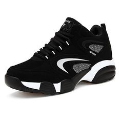 best website 1d04b 7460a Men s Nubuck leather Spring   Fall Comfort Athletic Shoes Basketball Shoes  Black   Red   Blue