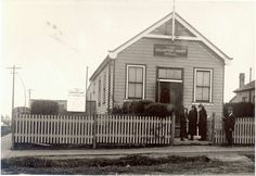 Salvation Army Hall at the corner of Burdett and Hunter Streets,Hornsby in northern Sydney (year unknown).